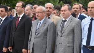 Başkan Albayrak Dünya Çevre Günü Çelenk Sunma Törenine Katıldı
