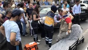 Çerkezköy'de Down Sendromlu Vatandaşa Araba Çarptı