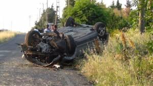Çorlu'da Trafik Kazası: 1 Yaralı