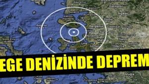 Egedeki 6,3lük Deprem Yunanistan'da Binaları Yıtkı