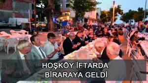 Hoşköy'de İftar Yemeği Düzenlendi