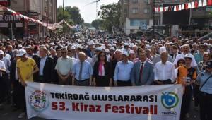 Malkara Belediye Başkanı 53.Kiraz Festivali
