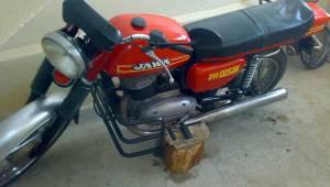 Malkara'da Polisen Kızan Genç Motorunu Parçladı