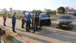 Otomobil Su Kanalına Düştü; 1 Ölü, 4 Yaralı