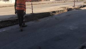 Şarköy'de Yapılan Doğalgaz Çalışmalarındaki Çukura Bir Kadın Vatandaş Düştü