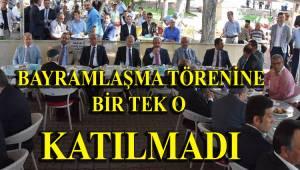 Tekirdağ Büyükşehir Belediyesinin Bayramlaşma Törenine Bir Tek O Gelmedi