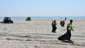 Tekirdağ'da 72 Kilometre Uzunluğundaki Plajlarında Bayram Temizliği Başladı