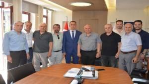 Tekirdağspor'dan Başkan Eşkinat'ı Ziyaret