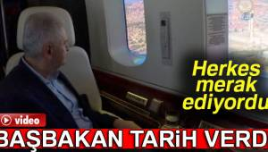 Başbakan Yıldırım, üçüncü havalimanı inşaatını inceledi