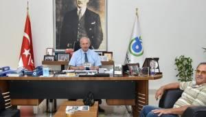 Başkan Albayrak'ı İlkokul Arkadaşı Ziyaret Etti