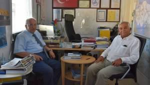 Başkan Albayrak'tan Asyaport Yönetim Kurulu Başkanı Ahmet Soyuer'e Ziyaret
