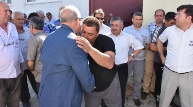 Başkan Albayrak Yılmas Gürel'in Cenaze Törenine Katıldı
