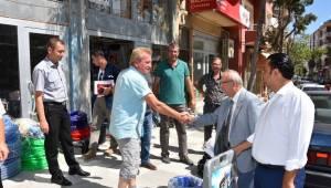 Başkan Kadir Albayrak Prestij Caddesi'nde İncelemelerde Bulundu