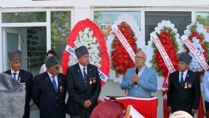 Başkan Uyan Muharip Gaziler Derneği Açılışına Katıldı