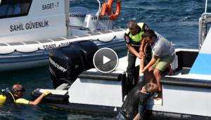 Denizden Cansız Bedeni Çıkarılan Genç Adam, Hastanede Yaşama Döndürüldü