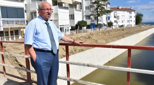 Kadir Albayrak Şarköy'de Olukbaşı ve Karadeğirmen Dere Islah Çalışmalarını İnceledi