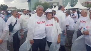 Kapaklı'lı CHP'liler Adalet Yürüyüşüne Katıldı