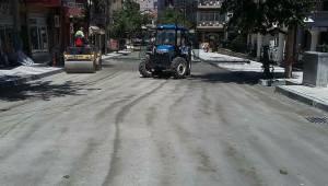 Malkara'da Üstyapı Çalışmaları Devam Ediyor