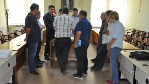 Malkara Kapalı Pazar Yeri İçin İller Bankası Yetkilileriyle Toplantı Yapıldı