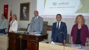 Meclis Toplantısı Temmuz 2017 Dönemi 1. Birleşimi Yapıldı