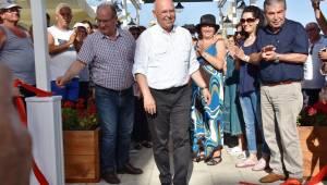 Mutlukent Kumbağ Halk Plajı Hizmete Başladı