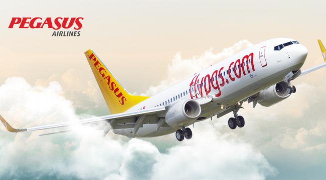 Pegasus Hava Yolları Çorlu - Ankara Seferi Başlıyor