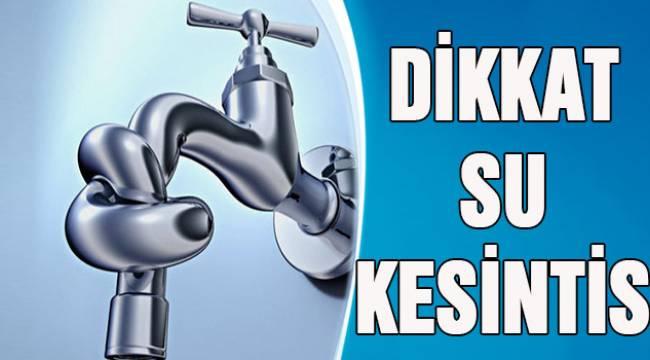 Şarköy'de Doğalgaz Çalışmalarında Su Borusu Patladı Elektrikler Kesildi