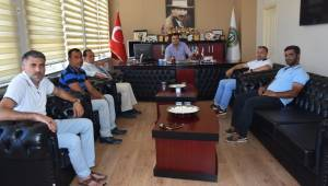 Tekirdağ 59 Roman Dernekleri Federasyon Başkanı Salih Pirbudak'tan Belediye Başkan Vekili Recai Örs'e Ziyaret