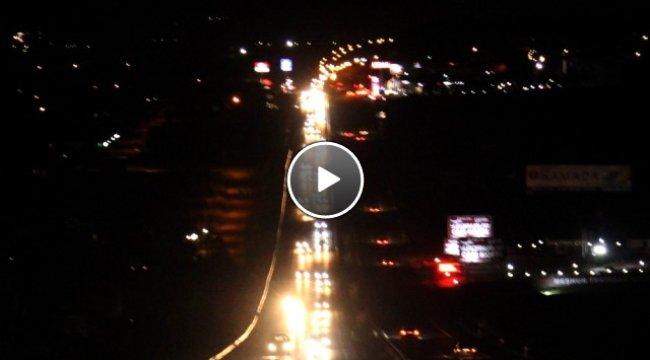 Tekirdağ'da İnanılmaz Manzara! Tatilciler 20 Kilometrelik Araç Kuyruğu Oluşturdu