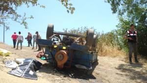 Tekirdağ'da Tarım Aracı Devrildi: 1 Ölü
