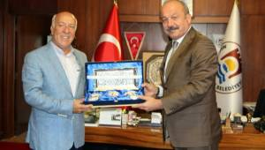 Tekirdağ İl Emniyet Müdürü Mustafa Aydın'dan Başkan Uyan'a Ziyaret