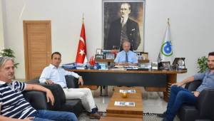 Tekirdağspor'un Yeni Yönetiminden Başkan Albayrak'a Ziyaret