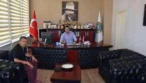 TESKİ Malkara Şube Müdürü Kenan Taşkın'dan Belediye Başkan Vekili Recai Örs'e Ziyaret