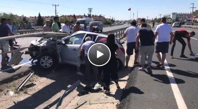 Trafik Kazası: 2'si Ağır 4 Yaralı