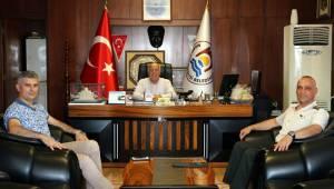 TSK Özel Eğitim Merkez Komutanı'ndan Uyan'a Ziyaret