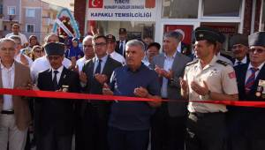 Türkiye Muharip Gaziler Derneği Kapaklı Temsilciliğin Açılışı Yapıldı