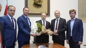 Vali Çiftçi AK Parti Kırklareli Teşkilatının Ağırladı