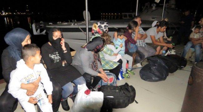 Çanakkale 60 Kaçak Yakalandı