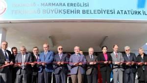 Marmara Ereğlisi Yeni Okuluna Kavuştu