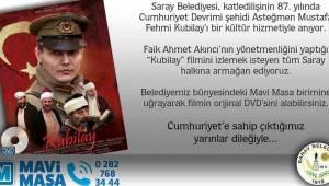 Saray Belediyesi Mustafa Fehmi Kubilay'ı Unutmadı