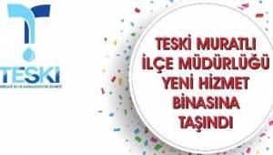 TESKİ Muratlı Hizmet Binası Açıldı