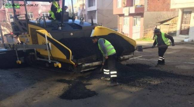 Süleymanpaşa 2018 Yılında da Tam Gaz Devam Ediyor