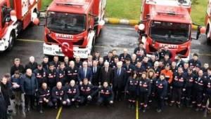 Tekirdağ Büyükşehir Belediyesi İtfaiye Daire Başkanlığı Çorlu'ya El Attı
