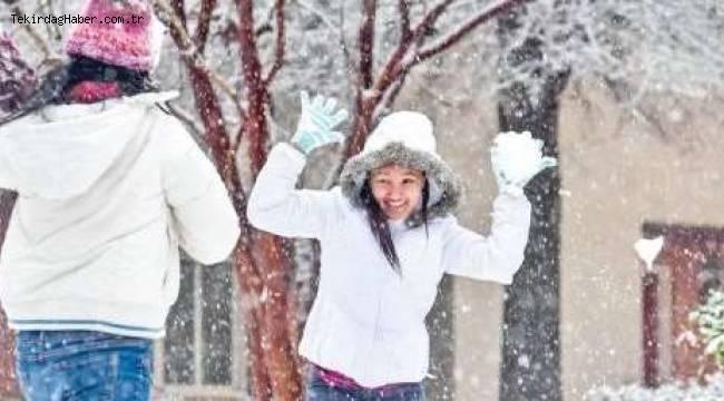 Tekirdağ Hava ve Kar Yağışı Tahminleri