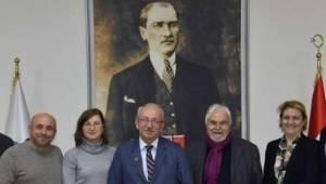 Cumhuriyet Yazarından Tekirdağ Başkanına Ziyaret