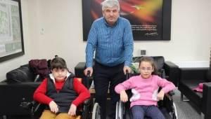 Engellilere Kapaklı Belediyesinden Destek