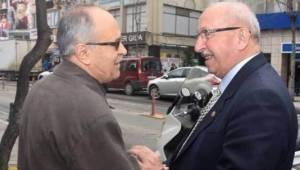 Tekirdağ Büyükşehir Başkanı Süleymanpaşa'da Esnafla Buluştu