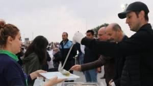 Çerkezköy İftarda Cumhuriyet Meydanında Buluştu