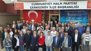 CHP Tekirdağ Milletvekili Aday Adayına Büyük İlgi