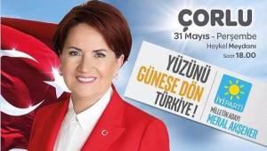 İyi Parti Tekirdağ'da 31 Mayıs Hazırlığı Yapıyor